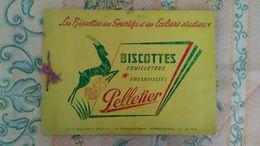 - ALBUM COMPLET 100 CHROMOS BISCOTTES PELLETIER - - Confiserie & Biscuits
