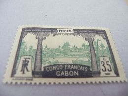 TP Colonies Françaises GABON Charnière N° 41 - Neufs