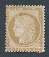 DP-283: FRANCE: Lot  Avec N°55 Neuf Sans Gomme - 1871-1875 Cérès