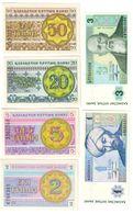 Kazakhstan Lot 6 Banknotes UNC/AUNC .LF1. - Kazakhstán
