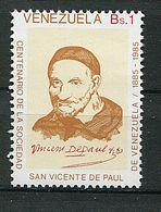 Venezuela ** N° 1168 - Portrait De St Vincent De Paul - Venezuela