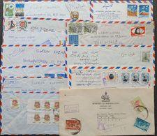 IRAN - LOT 11 Luftpost-Briefe Gelaufen Wien - Irán
