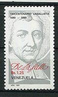 Venezuela ** N° 1088 - Portrait De St Jean-Baptiste De La Salle - Venezuela