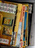 CALENDRIERS DU FACTEUR 9 TRES BON ETAT 1989.90.91.93.94.95.97.98.99  SOIT  9 CALENDRIERS CARTONNES GRAND FORMAT - Grand Format : 1991-00