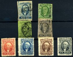 México Nº 1, 2b, 7/8, 13/16.  Año 1856/64 - Mexique