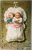 KIDS  CHILDREN  CHILDRENS  LITHO  EMBOSSED  1902 - Tarjetas Humorísticas