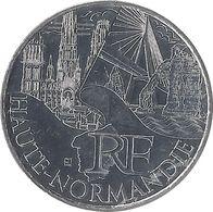10 EUROS DES RÉGIONS - Haute-Normandie / MONNAIE DE PARIS 2011 - Francia
