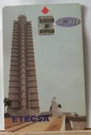 SCHEDE TELEFONICHE, CUBA, ETECSA, CHIP GRATTACIELO 0000410706 - Cuba