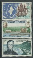 Wallis Et Futuna P.A. N° 15 / 17 XX   : Les 3 Valeurs, Sans Charnière, TB - Luftpost