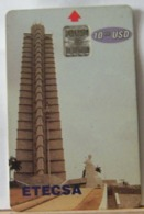 SCHEDE TELEFONICHE, CUBA, ETECSA, CHIP GRATTACIELO 0000452945 - Cuba