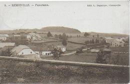 REMOIVILLE ..-- Panorama .  De SIBRET à WENDUYNE ( Melle KOUMOTH ) . Voir Verso . - Vaux-sur-Sûre