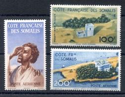 RC 17979 COTE DES SOMALIS COTE 42€ PA N° 20 / 22 SÉRIE POSTE AERIENNE NEUF * TB - Neufs