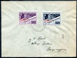 G10-92 SAN MARINO 1943 Lettera Affrancata Con Giornata Filatelica Di Rimini, Serie Completa, Annullo Di Arrivo, Ottime C - Covers & Documents