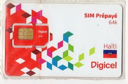 HAITI CARTE GSM DIGICEL VERSO NUMEROTEE - Haïti