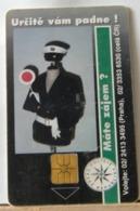 SCHEDE TELEFONICHE, CECOSLOVACCHIA DIVISA  VIGILE - Tchécoslovaquie