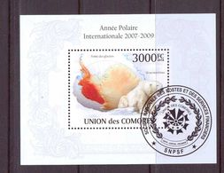 COMORES 2010 ANNEE POLAIRE YVERT N°B250  OBLITERE - International Polar Year