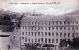 23 - Creuse - AUBUSSON - Manufacture De Tapis Et Tapisseries Braquenié - - Aubusson