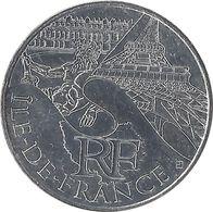 10 EUROS DES RÉGIONS - Île De France / MONNAIE DE PARIS 2011 - Francia