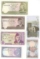 Pakistan Lot 6 Banknotes UNC/AUNC .LF1. - Pakistan