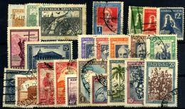 Argentina Nº 340/413, 344, 350F, 351/3, 359/60, 375/84, 431/5.  Año 1930/44 - Oblitérés