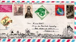 ESPAGNE LETTRE POUR LA FRANCE 1971 - 1931-Hoy: 2ª República - ... Juan Carlos I
