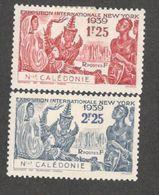 NEW CALEDONIA(French)1939:Yvert 173-4 Mh* - New Caledonia