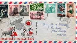 ESPAGNE LETTRE POUR LA FRANCE 1973 - 1931-Hoy: 2ª República - ... Juan Carlos I