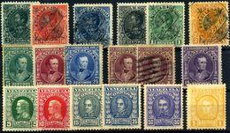 Venezuela Nº 65/70, 110/14, 123, 125/30.  Año 1901/11 - Venezuela