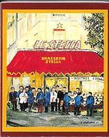 Boite D'allumettes-Brasserie Le STELLA- Paris 16 (2 Scans)--TBE - Boites D'allumettes
