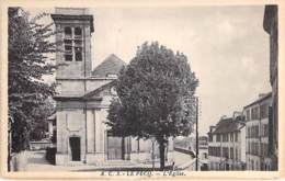 78 - LE PECQ : L'Eglise - CPA - Yvelines - Le Pecq