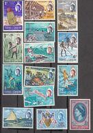Turks & Caicos 1967   Set Of 14  SG274  To   SG287     MH, MNH - Turks And Caicos