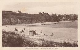 LOCQUIREC : La Plage, Du Fond De La Baie. - Locquirec