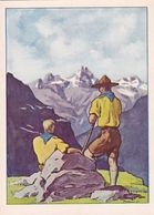 Bergwanderung - Signiert    (A-240-200627) - Scoutisme