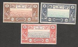 SOMALI COAST(French)1938:Yvert 167-9mnh** - Neufs