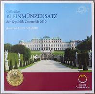 AUX2010.1 - COFFRET BU AUTRICHE - 2010 - 1 Cent à 2 Euros - Autriche