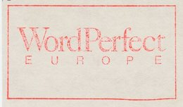Meter Cut Netherlands 1989 Word Perfect Europe - Computer Program - Computers