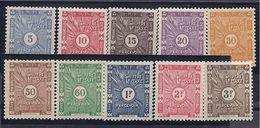 SOMALI COAST(French)1938:Yvert TT 11-20mh* - Neufs