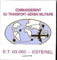 Pochette Militaire D'aviation Du GLAM (Rare)--TBE - Boites D'allumettes