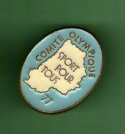 COMITE OLYMPIQUE SPORT POUR TOUS 77 *** 0088 (25) - Pin's & Anstecknadeln