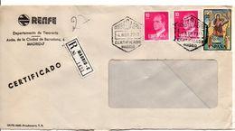 ESPAGNE LETTRE RECOMMANDEE DE MADRID POUR LA FRANCE 1978 - 1931-Hoy: 2ª República - ... Juan Carlos I