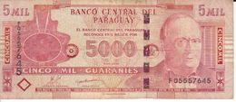 BILLETE DE PARAGUAY DE 5000 GUARANIES DEL AÑO 2010 (BANK NOTE) - Paraguay