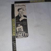RT1723 PUBBLICITA' LAVANDA LINETTI LINETTI PROFUMI VENEZIA - Victorian Die-cuts