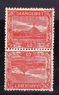 EX-PR-20-06 2 STAMPS. TETE-BECHE. MNH **. - 1920-35 League Of Nations