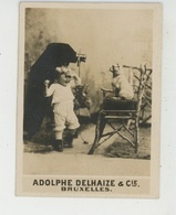 PHOTOS ORIGINALES - PUBLICITE - Enfant Chien Appareil Photo , PUB ADOLPHE DELHAIZE & CIE à BRUXELLES - BELGIQUE - Berufe