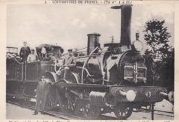 """THIONVILLE - MOSELLE -  (57) -    CPA ANIMÉE - LOCOMOTIVE -  """" LA VILLE DE THIONVILLE """". - Trains"""