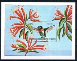 Bloc Sheet OIseaux Colibris Birds Hummingbirds Neuf MNH ** Congo 2000 - Colibris