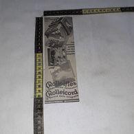 RT1730 PUBBLICITA' APPARECCHI FOTOGRAFICI ROLLEIFLEX ROLLEICORD - Victorian Die-cuts