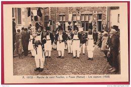 Marche De Saint Feuillen, à Fosse (Namur). Les Sapeurs (1928) - Fosses-la-Ville