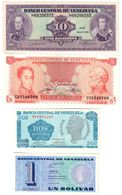 Venezuela Lot 4 Banknotes UNC/AUNC .LF1. - Venezuela