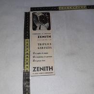 RT1732 PUBBLICITA' OROLOGI ZENITH - Victorian Die-cuts